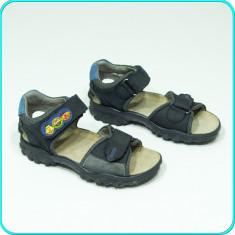 DE CALITATE → Sandale DIN PIELE, comode, aerisite, ELEFANTEN → baieti | nr. 30 - Sandale copii Elefanten, Culoare: Bleumarin, Piele naturala