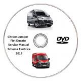 Fiat Ducato Citroen Jumper 2016 Service Manual + Schema Electrica - Manual auto
