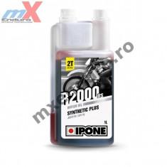 MXE Ulei moto 2T Ipone R2000 RS Sintetic Plus - JASO FD - API TC, 1L Cod Produs: 800104IP - Husa moto