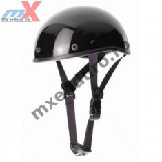 MXE Casca semi-integrala Louis Braincap, culoare neagra Cod Produs: 20330403LO - Set garnituri motor Moto