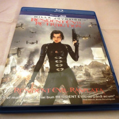 Resident Evil Retribuiton 3D, subtitrare romana, BluRay - Film actiune sony pictures, BLU RAY 3D