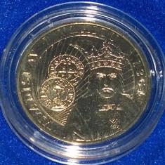Moneda BNR 50 bani in capsula / Valdislav I Vlaicu / F716, Alama