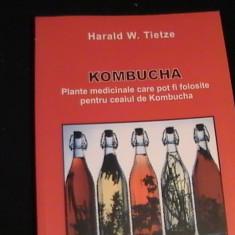 KOMBUCHA-PLANTE MEDICINALE FOLOSITE-PENTRU CEAI-HARALD W. TIETZE- - Carte Medicina alternativa