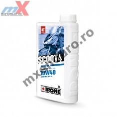 MXE Ulei scuter 4T Ipone Scoot 4 10W40 Sintetic - JASO MB -API SL, 2L Cod Produs: 800384IP - Set garnituri motor Moto