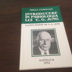 INTRODUCERE IN PSIHOLOGIA LUI C. G. JUNG- FRIEDA FORDHAM