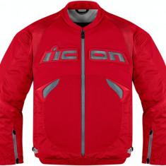 MXE Geaca moto textil Icon Sanctuary, rosu Cod Produs: 28102425PE - Imbracaminte moto