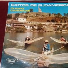 DISC VINIL EXITOS DE SUDAMERICA OLIMPIO CARDENAS