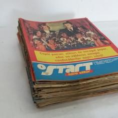 LOT 88 REVISTE START SPRE VIITOR - ANII 1981-1989, DIFERITE NUMERE - Revista scolara