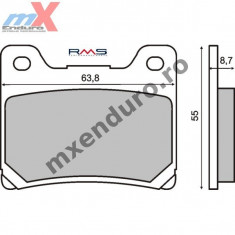 MXE Placute frana spate standard Yamaha TDM850/AN 91- Cod Produs: 225100730RM - Multiplicator forta Service