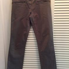 Pantaloni dama NAPAPIJRI, mas. 40, Culoare: Khaki, Lungi, Bumbac