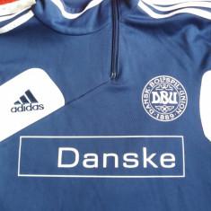 Bluza sport nationala danemarca - Bluza barbati Adidas, Marime: 42-46, Culoare: Albastru