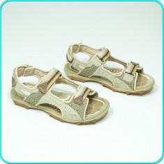 DE FIRMA → Sandale dama, comode, aerisite, piele, GEOX → femei | nr. 38, Culoare: Bej