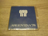 JN. Set Argentina 1978, 20, 50, 100 pesos 1977, Europa