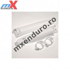 MXE Protectii telescoape fata KX+KXF, culoare albe Cod Produs: UF3760280AU - Discuri frana fata Moto