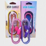 Cablu de date plat colorat iPhone 5