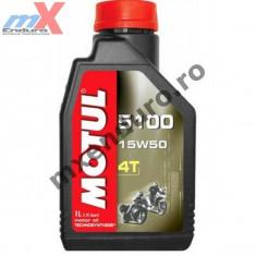 MXE Ulei Motul 5100 4T 15W50 1L Cod Produs: 104080 - Ulei relaxare