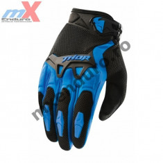 MXE Manusi motocross copii Thor Spectrum, culoare albastru Cod Produs: 3332-0898 - Pipe bujii Moto
