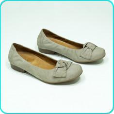 DE FIRMA → Pantofi dama, piele, comozi, fiabili, calitate GABOR → femei | nr. 38 - Pantof dama Gabor, Culoare: Gri, Piele naturala, Cu talpa joasa