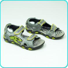 DE FIRMA → Sandale aerisite, comode, cu leduri, calitate GEOX → baieti | nr. 34 - Sandale copii Geox, Culoare: Din imagine, Piele naturala