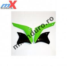 MXE Laterale radiator Kawasaki KXF 250/2007, culoare verde/negru Cod Produs: UF3783026AU - Pompa frana Moto