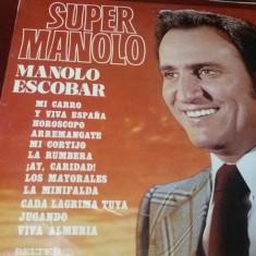 DISC VINIL SUPER MANOLO MANOLO ESCOBAR
