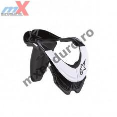 MXE Protectii gat copii/adulti Alpinestars Bionic 2 culoare alb/negru Cod Produs: 65001021 - Protectii moto