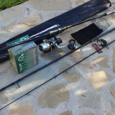 Lanseta Crap Mifine Classic Parossa Carp 3, 6 din 3 + Mulineta Mifine HT 5000 - Set pescuit