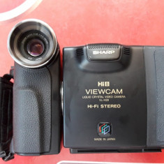 CAMERA VIDEO SHARP VL H29E, HI-FI STEREO, MADE IN JAPAN .
