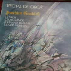 DISC VINIL RECITAL DE ORGA - Muzica Clasica