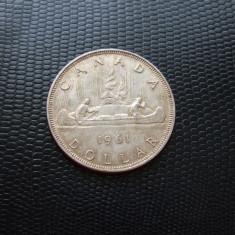 JN. One dollar 1961 Canada, argint, Europa
