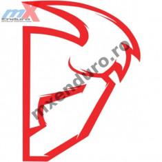 MXE Abtibild Thor S4 Die Cut culoare rosu Cod Produs: 43201519PE - Produs intretinere moto