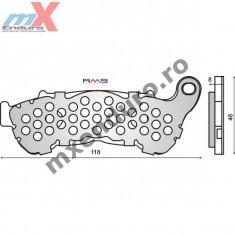 MXE Placute frana fata kevlar Honda XL1000V VARADERO/AN 04- Cod Produs: 225102551RM - Manete Ambreiaj Moto