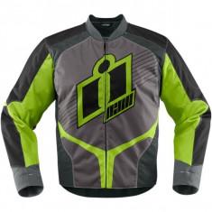 MXE Geaca moto textil Icon Overlord 2, verde Cod Produs: 28203111PE - Imbracaminte moto