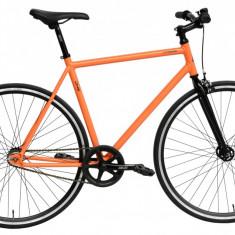 Bicicleta DHS Fixie 2896 (2016) Culoare Portocaliu 440mmPB Cod:21628964440 - Cursiera