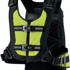 MXE Rucsac Icon Squad 3 Galben Fluorescent Cod Produs: 35170284PE - Rucsac moto