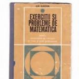 Gheorghe gheba exercitii si probleme1969 - Carte Matematica