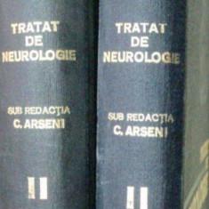 TRATAT DE NEUROLOGIE-C. ARSENI VOL 2 ,PARTILE I-II , 1980