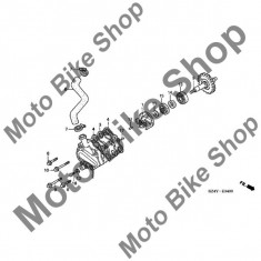 MBS Rola rulment 4X8 pompa apa 2001 Honda CR125R #17, Cod Produs: 9622040080HO - Capac pompa apa Moto