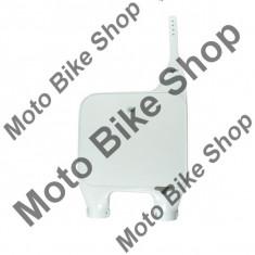 MBS Plastic numar fata Honda CR 90-94, alb, Cod Produs: HO02629041 - Componente moto
