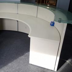 Birou pentru Receptie, stare foarte buna; Masa de lucru