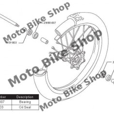 MBS Kit rulmenti roata fata Yamaha, Cod Produs: PWFWKY07421VP - Kit rulmenti Moto