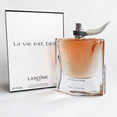LA VIE EST BELLE Tester parfum LANCOME 75ml - Parfum femeie Lancome, Apa de parfum