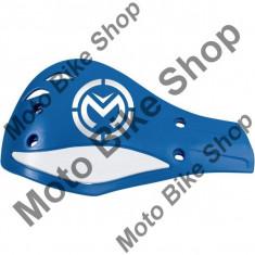 MBS Plastic protectii maine Moose Racing Contour Deflector, albastru, 2 bucati, Cod Produs: 06350549PE - Componente moto