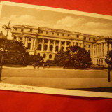 Ilustrata Bucuresti - Palatul Regal, interbelica - Carte Postala Muntenia dupa 1918, Necirculata, Fotografie