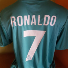 TRICOU RONALDO REAL MADRID 2017-2018 MARIMI XS, S, M, L, XL, XXL - Tricou echipa fotbal, Marime: L, M, S, Culoare: Din imagine