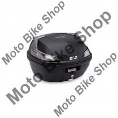 MBS Topcase Givi B47 Blade Tech, Monolock, placa de prindere, 47L, negru, Cod Produs: B47NTMLAU - Top case - cutii Moto