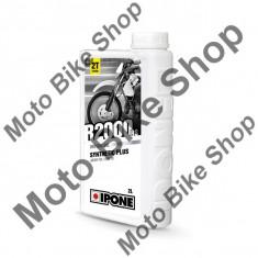 MBS Ulei moto 2T Ipone R2000 RS Sintetic Plus - JASO FD - API TC, 2L, Cod Produs: 800106IP - Ulei motor Moto
