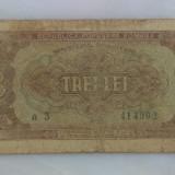 3 lei 1952 ieftin - Bancnota romaneasca