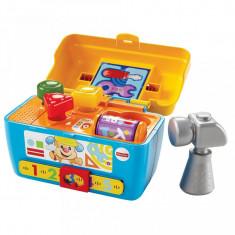 Jucarie bebelusi cutiuta interactiva Fisher Price