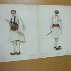 Roman din Macedonia costum popular aroman macedoroman machedon istroroman - Carte Arta populara
